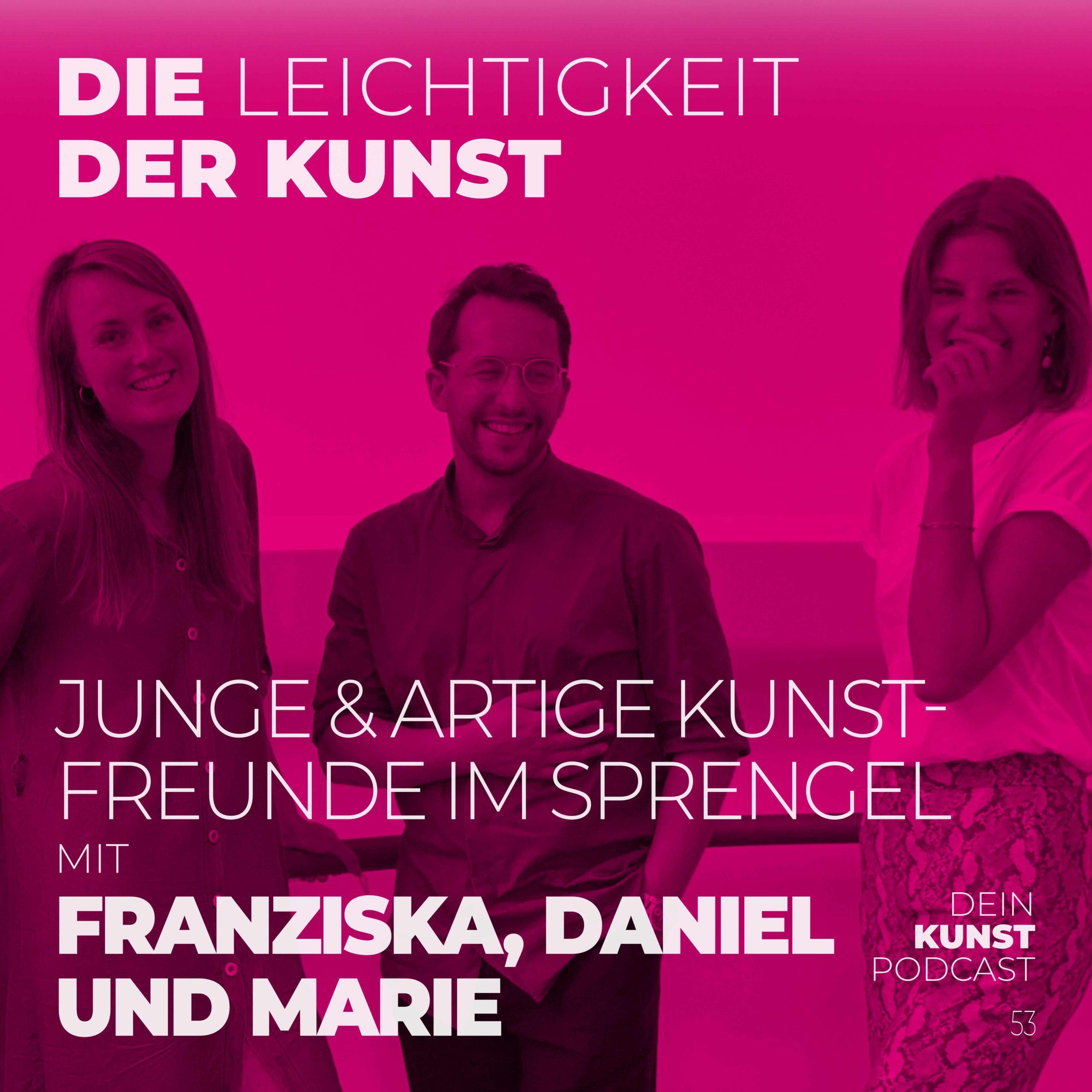 Read more about the article Junge & Artige Kunstfreunde im Sprengel